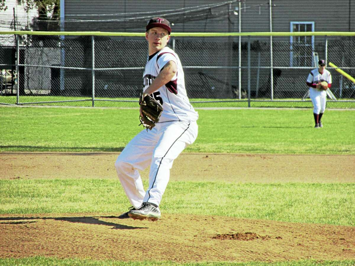 Torrington's Nate Manchester got his first start of the season Wednesday against Kennedy, striking out six Eagles in his four innings of work.