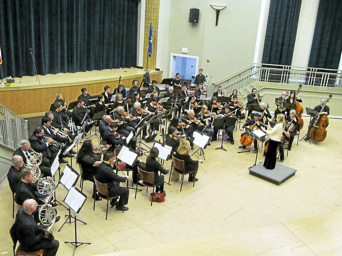 The Hamden Symphony Orchestra in concert.