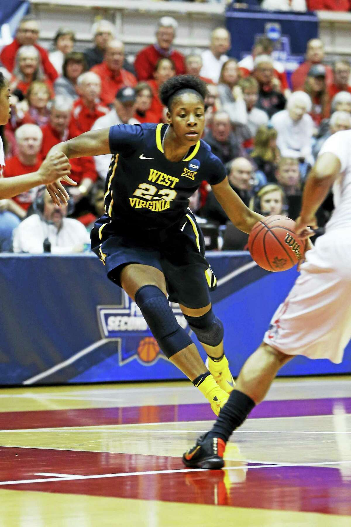 Bria Holmes has a chance to be the first Connecticut native to be a first-round WNBA pick.