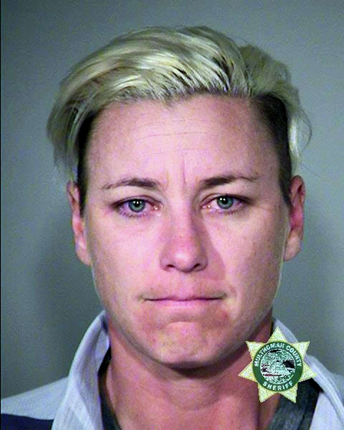 This undated photo provided by Multnomah County Sheriff's Office shows retired World Cup soccer champion Abby Wambach.