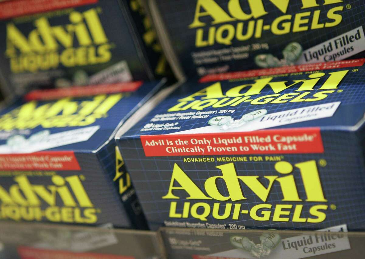 In this Oct. 5, 2006 photo, boxes of Advil Liqui-Gels are shown in New York. According to national surveys of parents and sixth-graders, tweens got a failing grade for knowledge about the proper use of over-the-counter medicines. Only about half knew such medicines can be dangerous when improperly used or mixed with other drugs.