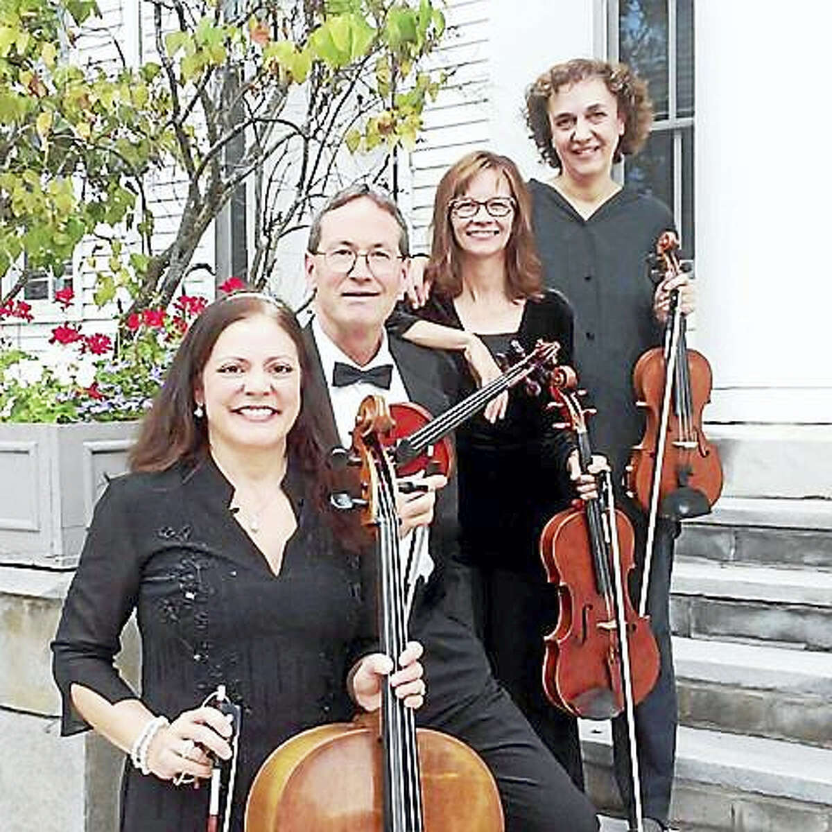 Contributed photoThe Deming Quartet performs in Woodbury this weekend.