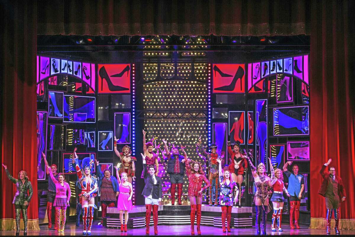 Contributed photoKinky Boots is on a national tour, which includes shows at the Palace Theater in Waterbury in early December.