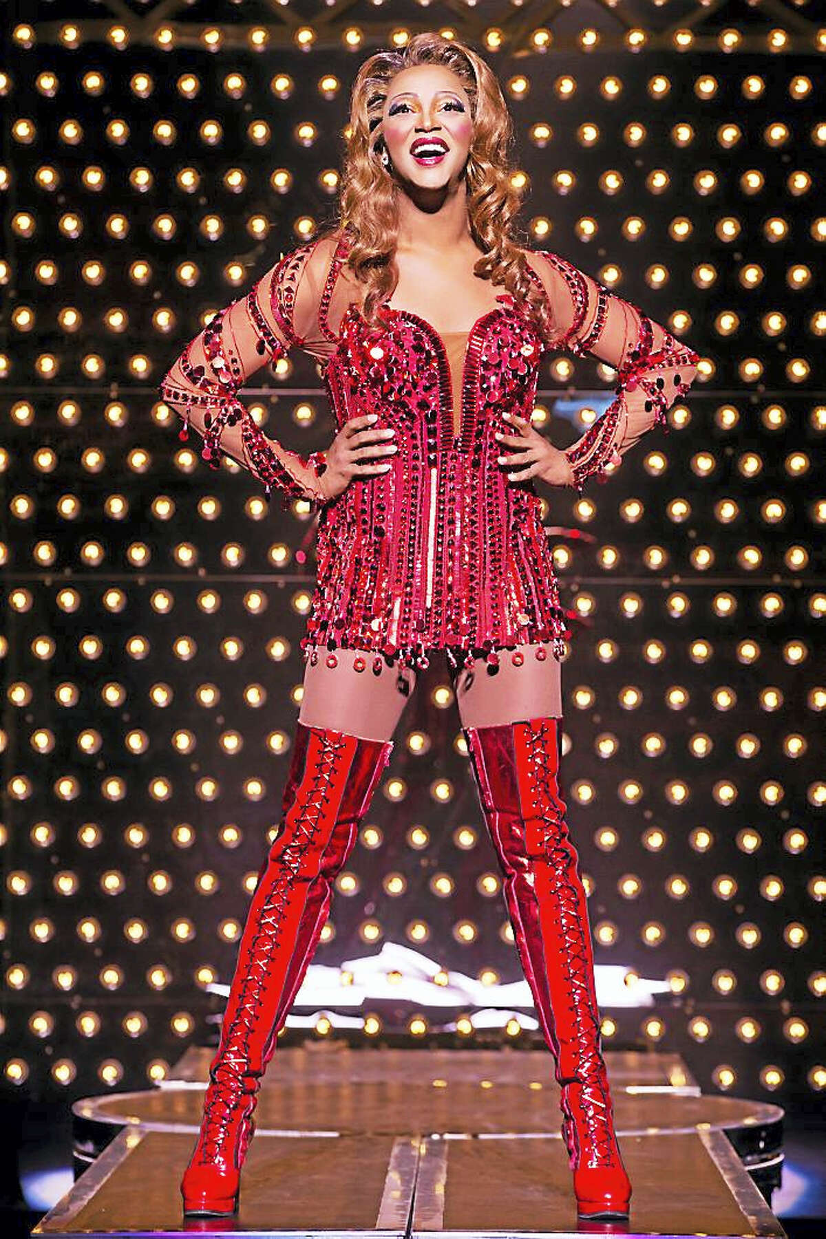 Contributed photo J. Harrison Ghee stars the national tour of Kinky Boots, which will include shows at the Palace Theater on Waterbury in December.
