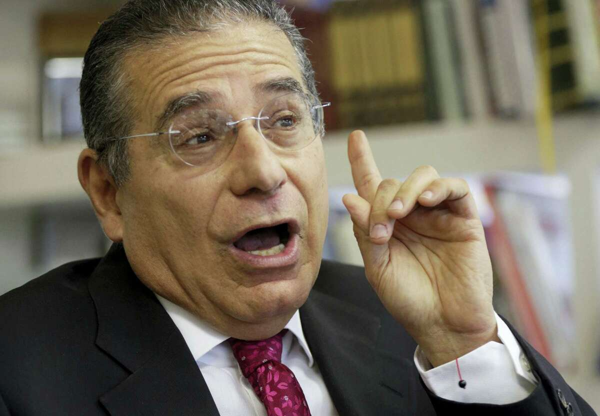Partner of the Panama-based law firm Mossack Fonseca, Ramon Fonseca speaks during an interview at his office in Panama City on April 7, 2016. Fonseca, a co-founder of Mossack Fonseca, one of the world's largest creators of shell companies, said that documents investigated by the ICIJ were authentic and had been obtained illegally by hackers.