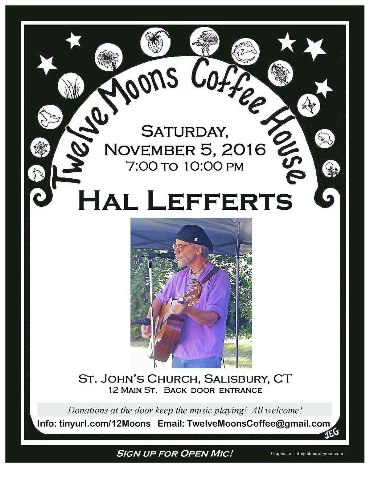 Contributed photoHal Lefferts plays at Twelve Moons in Salisbury Nov. 5.