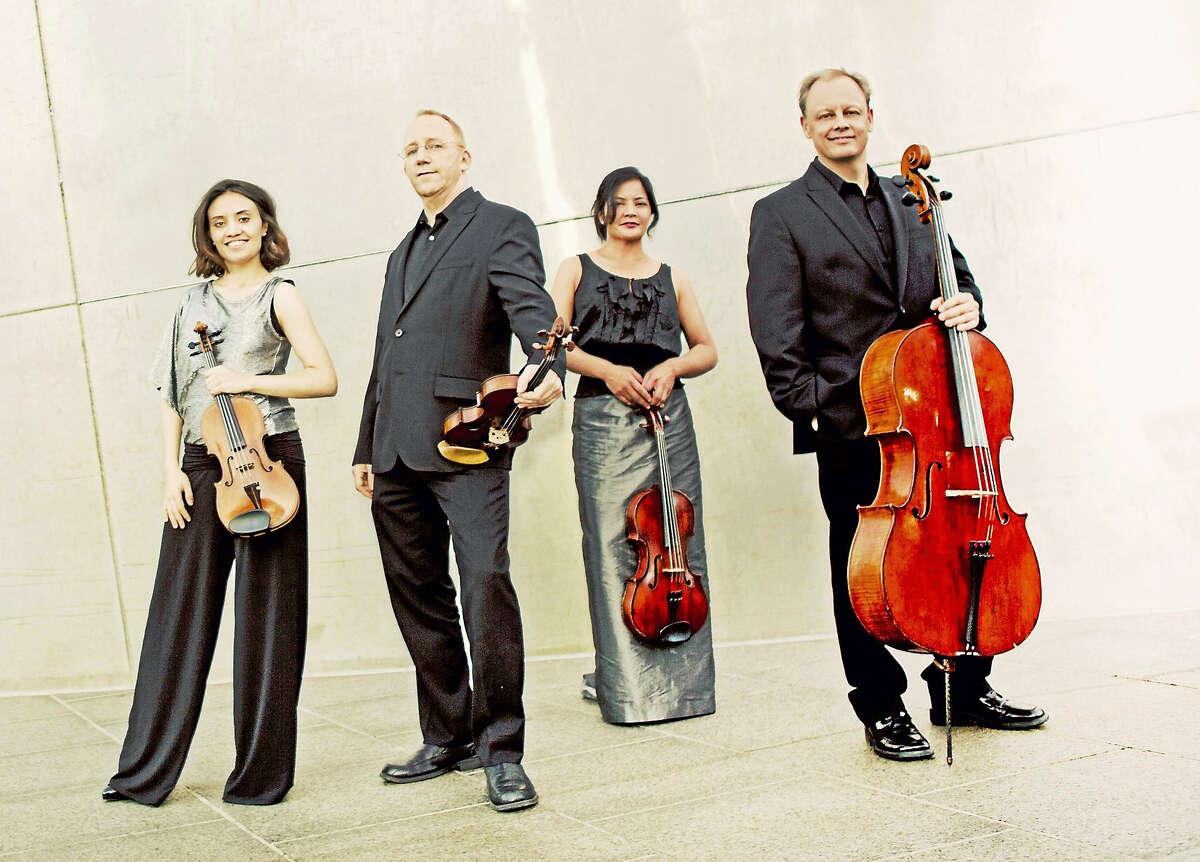 Contributed photoThe Arianna String Quartet.