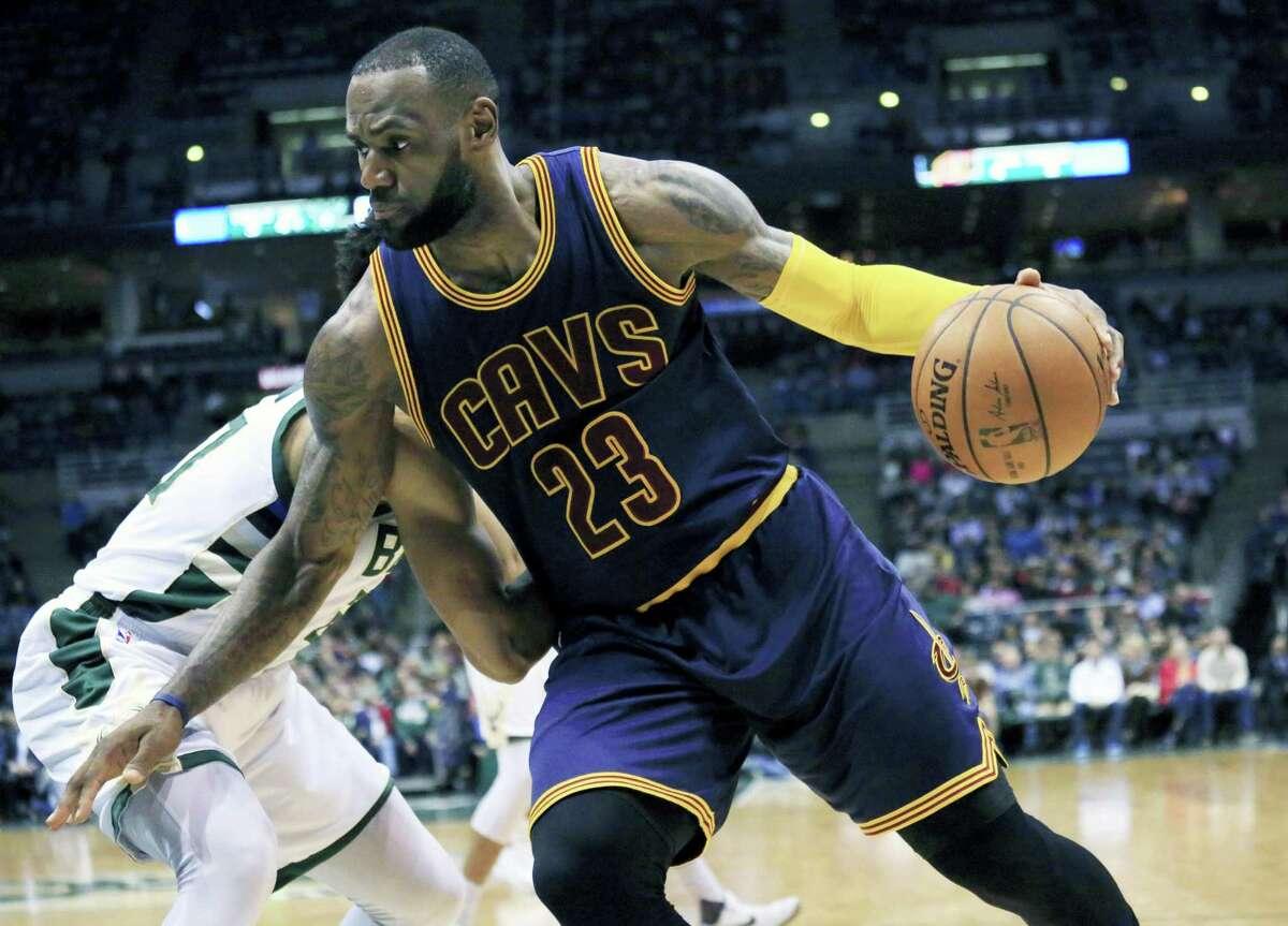 Cavaliers forward LeBron James.