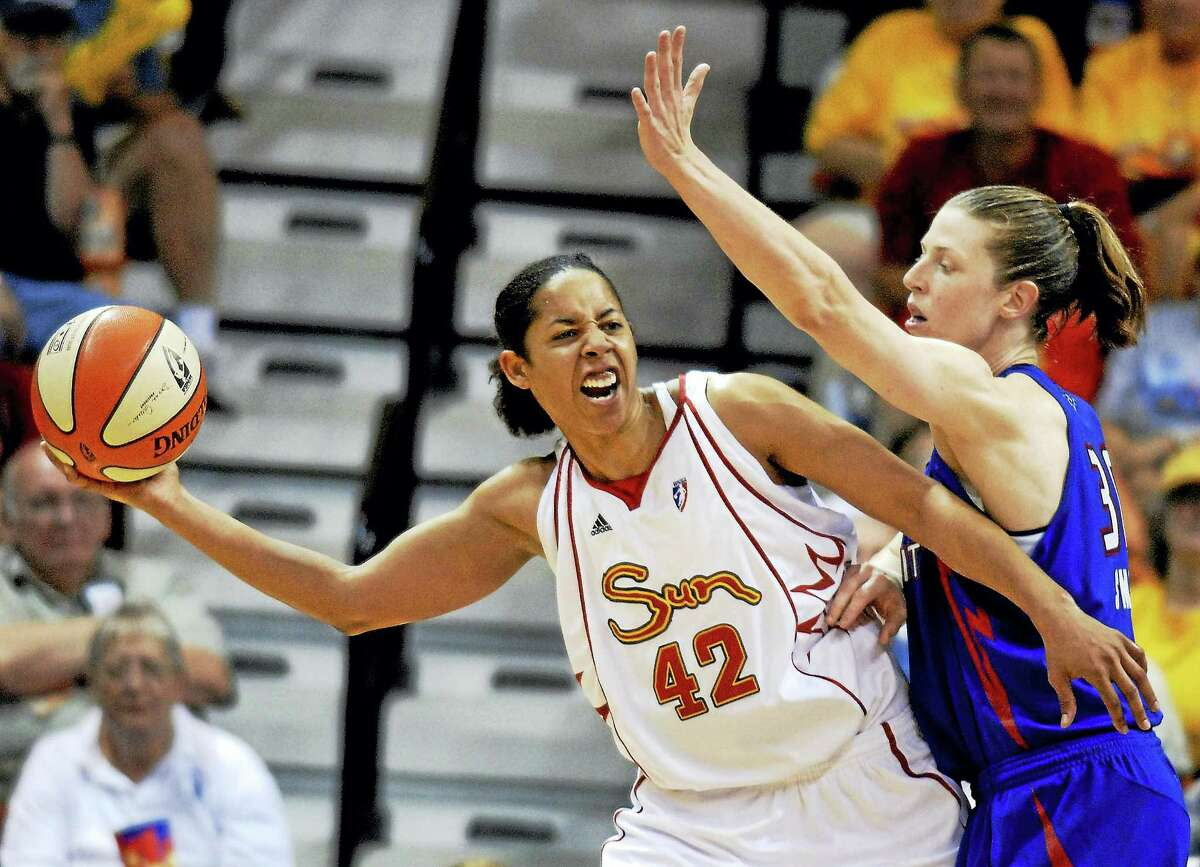 Nykesha Sales, seen here with the Connecticut Sun in 2007, is currently an assistant coach at UCF.