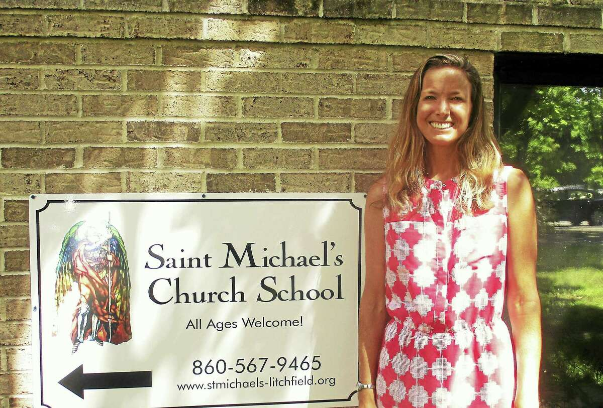 LITCHFIELD – St. Michael's new Church School Director Sarah Adams will host an Open House on Monday, August 29 from 3pm-4:30pm and on Saturday, September 10 from 10am-11am. All are welcome to St. Michael's newly remodeled church school space for refreshments and crafts, a tour, an opportunity to meet other parents of church school children, including Church School Coordinator Peg Terhune, and the ability to register for church school which begins on Sunday, September 11 at 9:40am, just prior to the 10am service. For more details, the parish number is 860.567.9465 or Sarah Adams can be emailed at churchschool@stmichaels-litchfield.org. St. Michael's Parish is located at 25 South Street, just off the Litchfield Green. The Open House will be held at the back of the church, in the lower level. All are welcome.