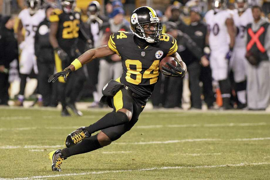 new style 26ea4 db569 Steelers' Antonio Brown asks Jets' Brandon Marshall to pay ...