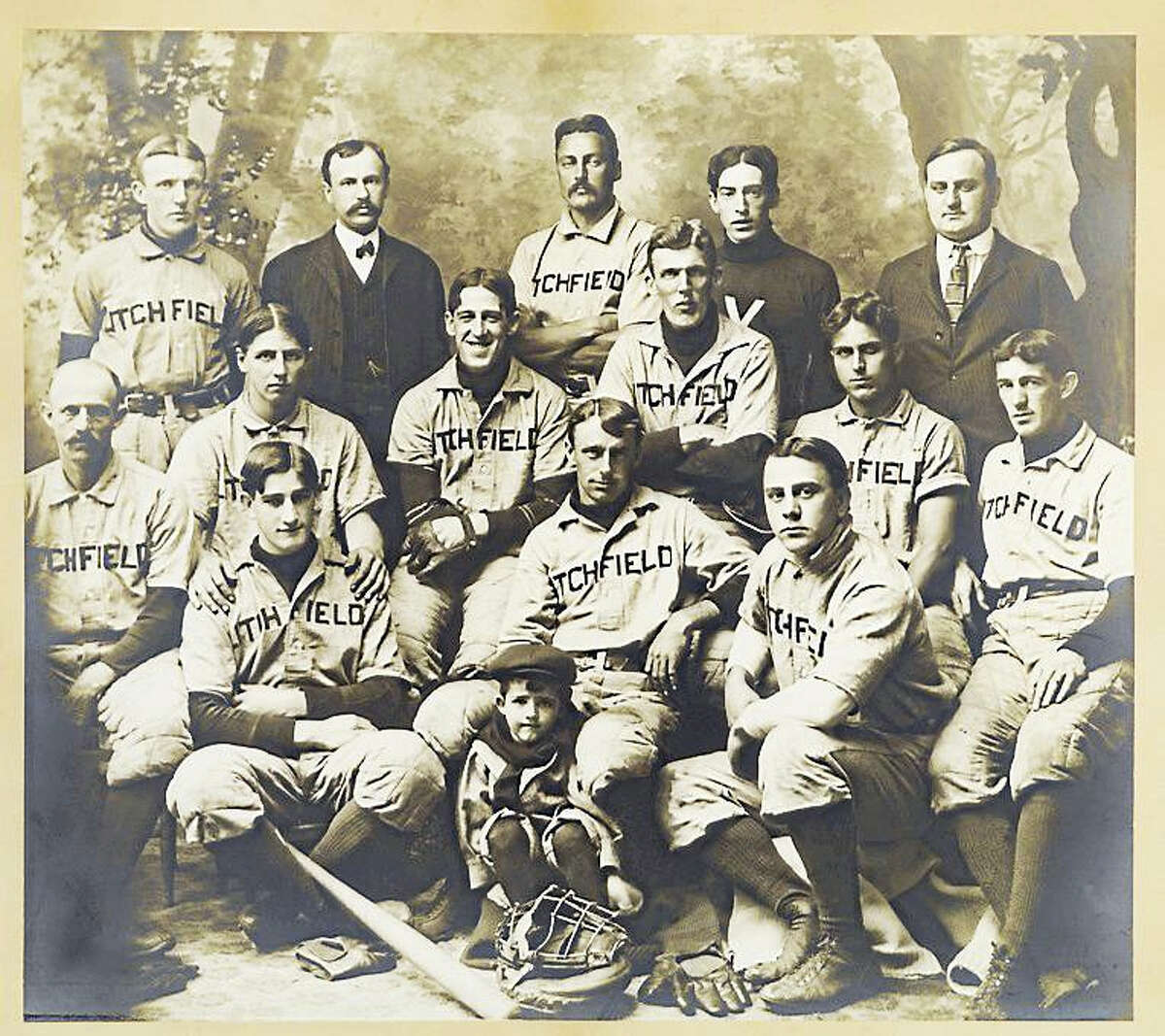 Contributed photoLitchfield's baseball team photographs are on display in the Litchfield Historical Society's new exhibition, America's Pastimes: Sports and Recreation in Litchfield, which opens April 15.