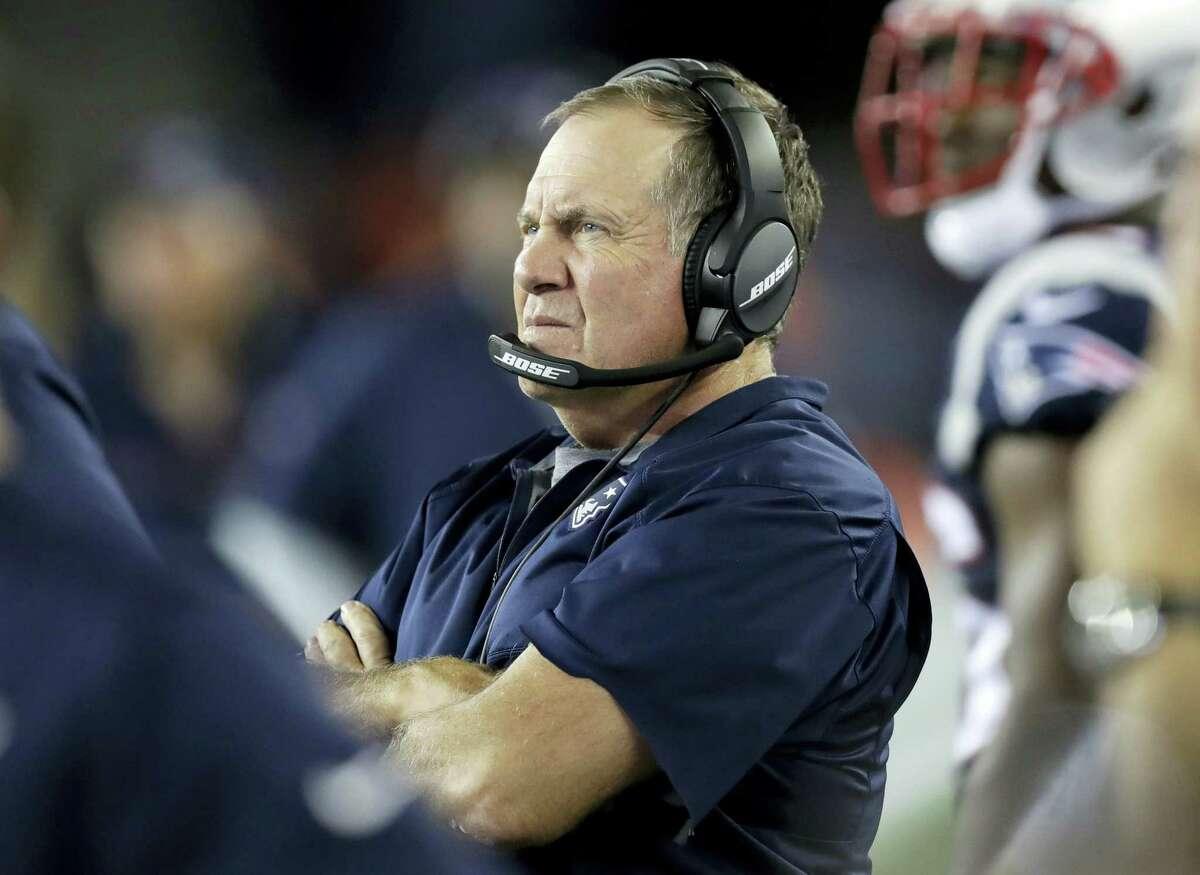 New England Patriots head coach Bill Belichick.