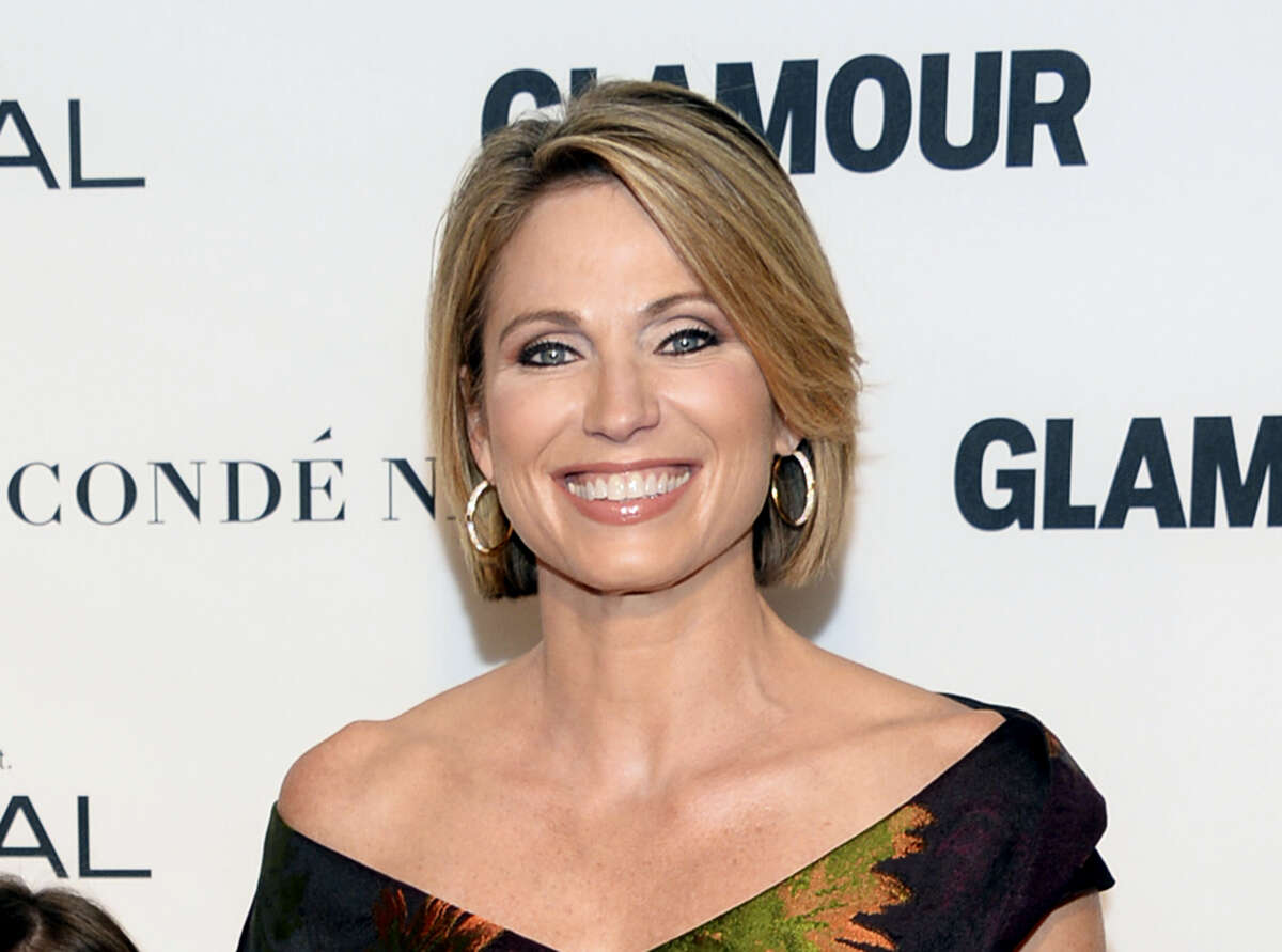 In this Nov. 9, 2015 photo, Amy Robach attends the 25th Annual Glamour Women of the Year Awards in New York.