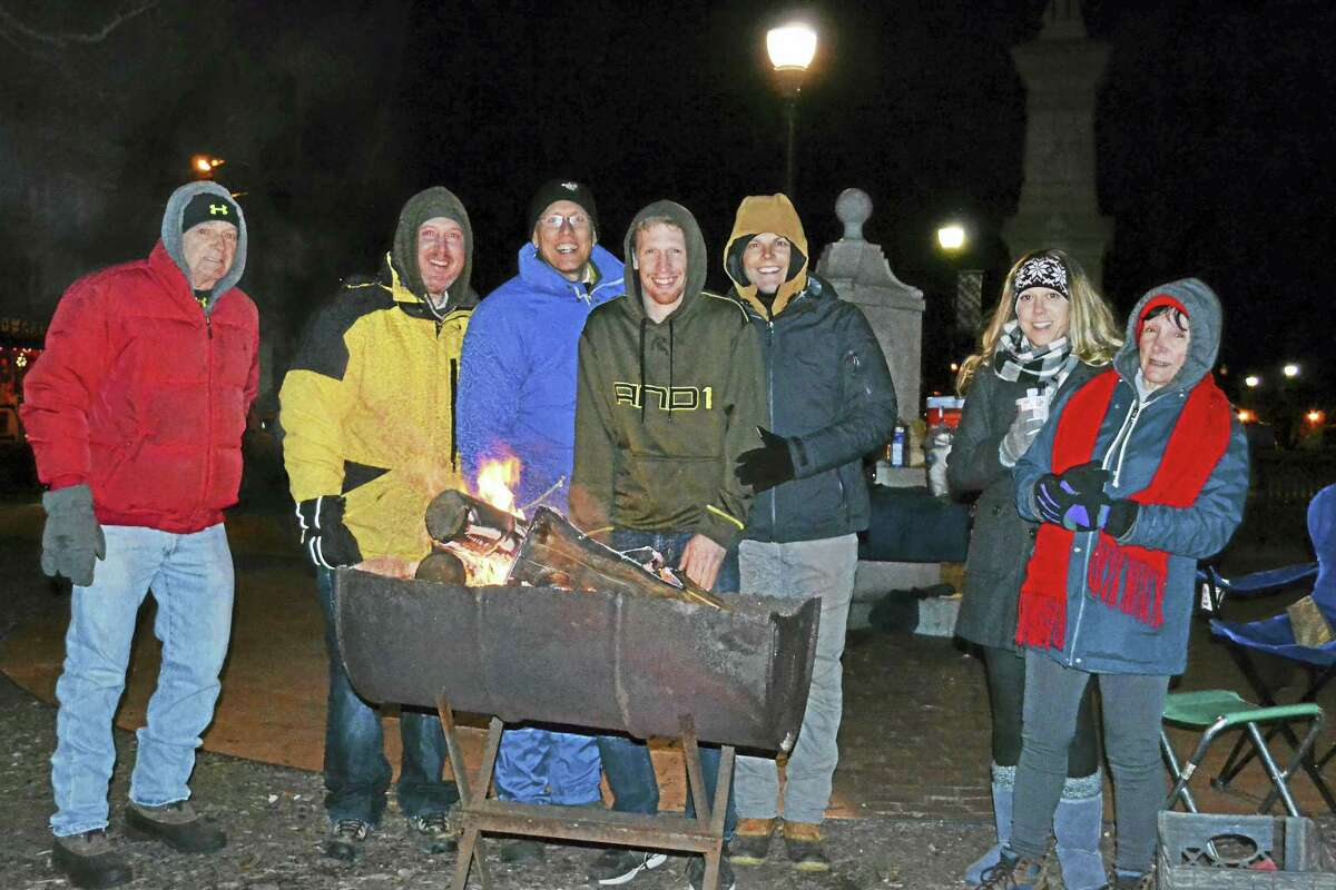 Contributed photosThe Northwest CT YMCA's 5th Annual Freezin' for a Reason was held at East End Park in Winsted on Dec. 9. The event raised over $11,000 for the Winsted Y Homeless Shelter.