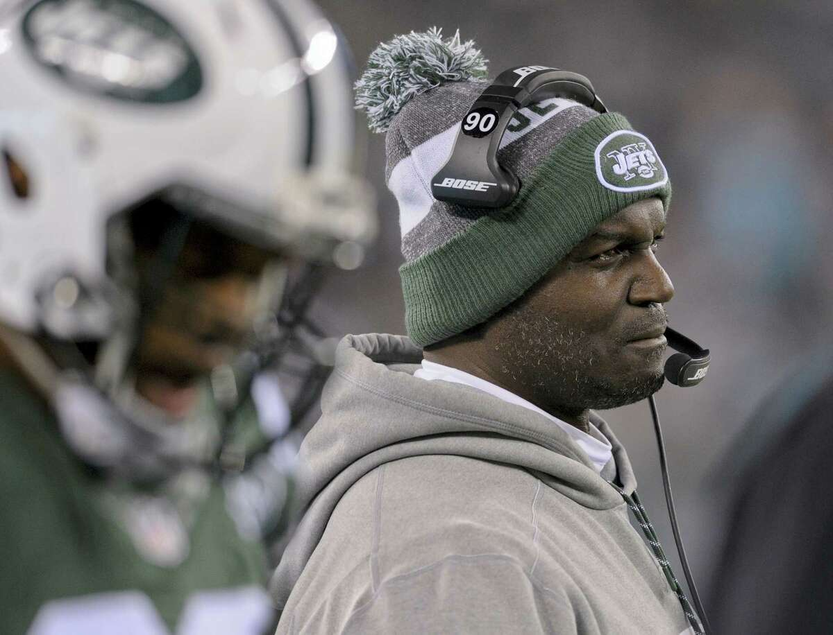 New York Jets head coach Todd Bowles.