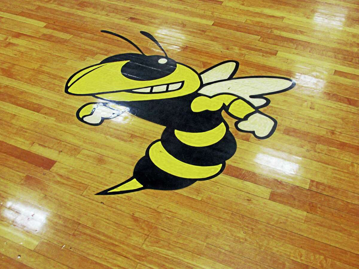 Photo by Peter WallaceWamogo's girls basketball felt the sting as the Yellowjackets swarmed at The Gilbert School Friday evening.