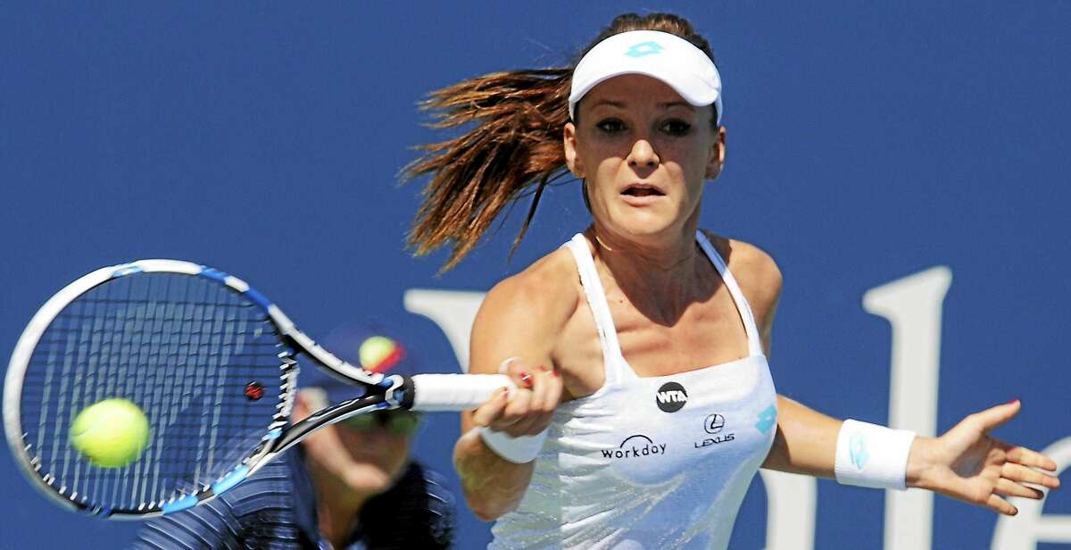 Poland's Agnieszka Radwanska returns to the Connecticut Open this year after accepting a wild card into the main draw.