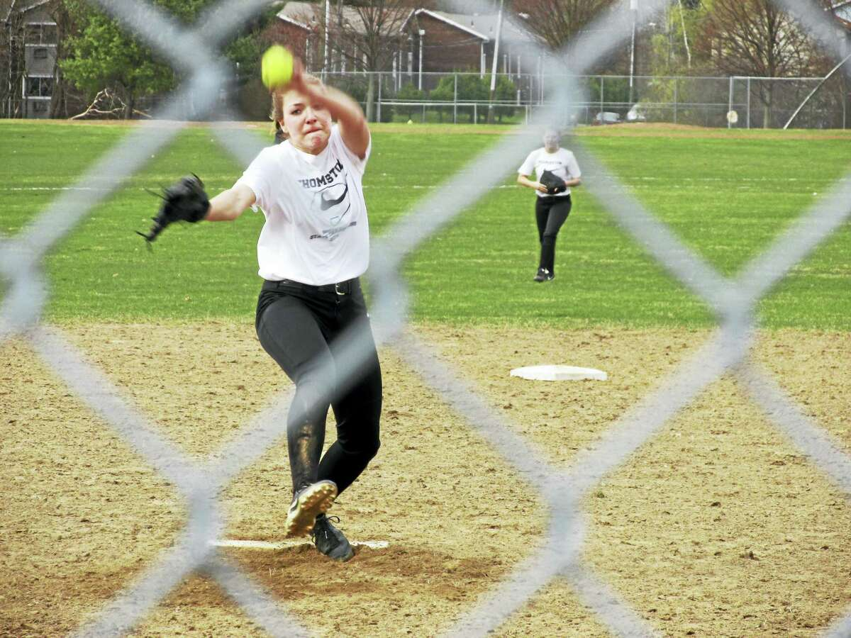 Photo by Peter WallaceAll-State pitcher Morgan Sanson hopes to lead Thomaston back to the Class S finals while several area teams might make the Berkshire League race just as interesting.