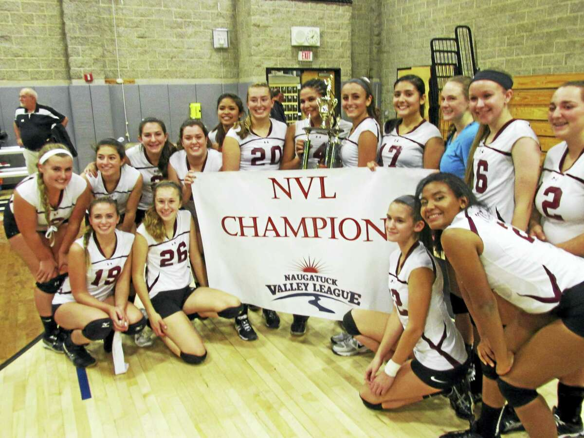Photo by Peter Wallace Torrington's girls volleyball team is the 2016 Naugatuck Valley League Volleyball Champion.
