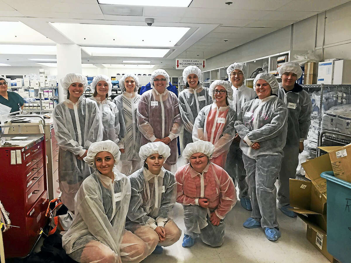 Torrington High School students took a step into the professional world Thursday, as they participated in a job-shadowing event organized by the district.