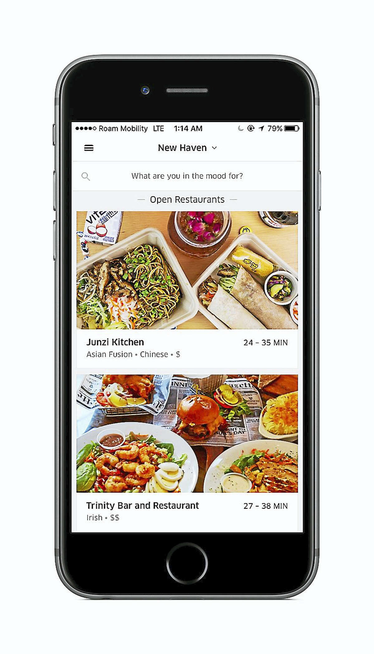 Smartphone users can get UberEats by downloading the new app.