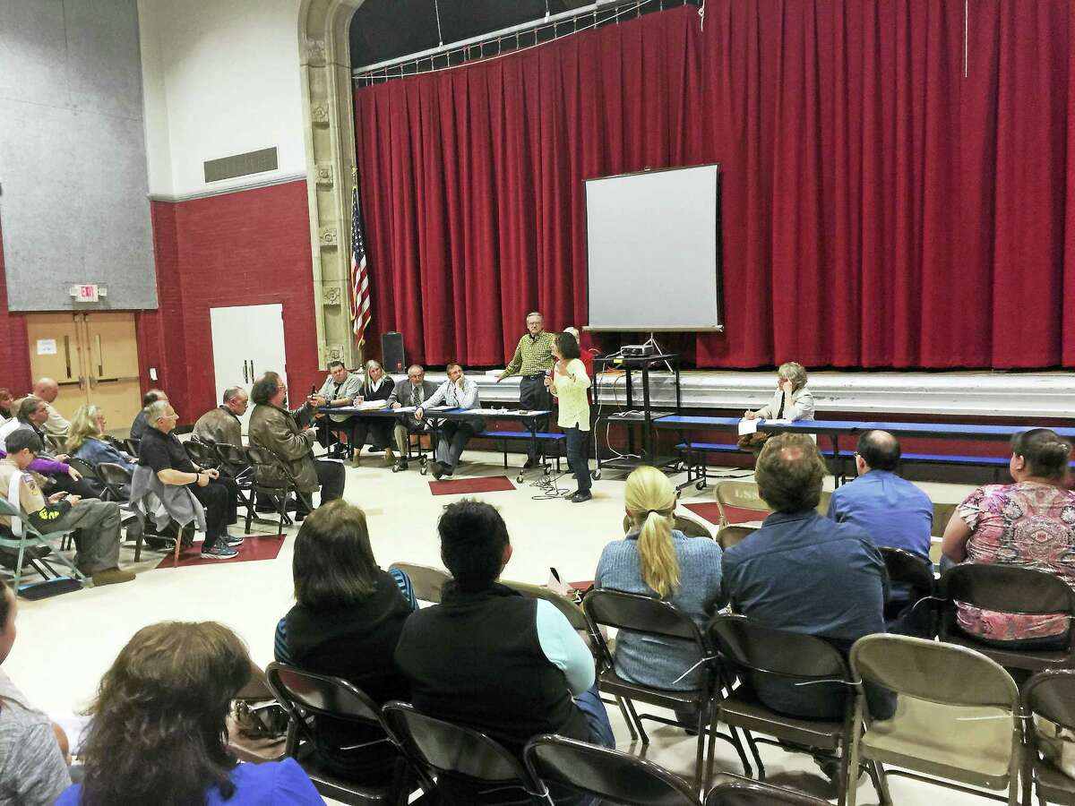 Winchester residents voiced their opinion on proposed school budgets and the future education of town children during a public hearing Thursday.