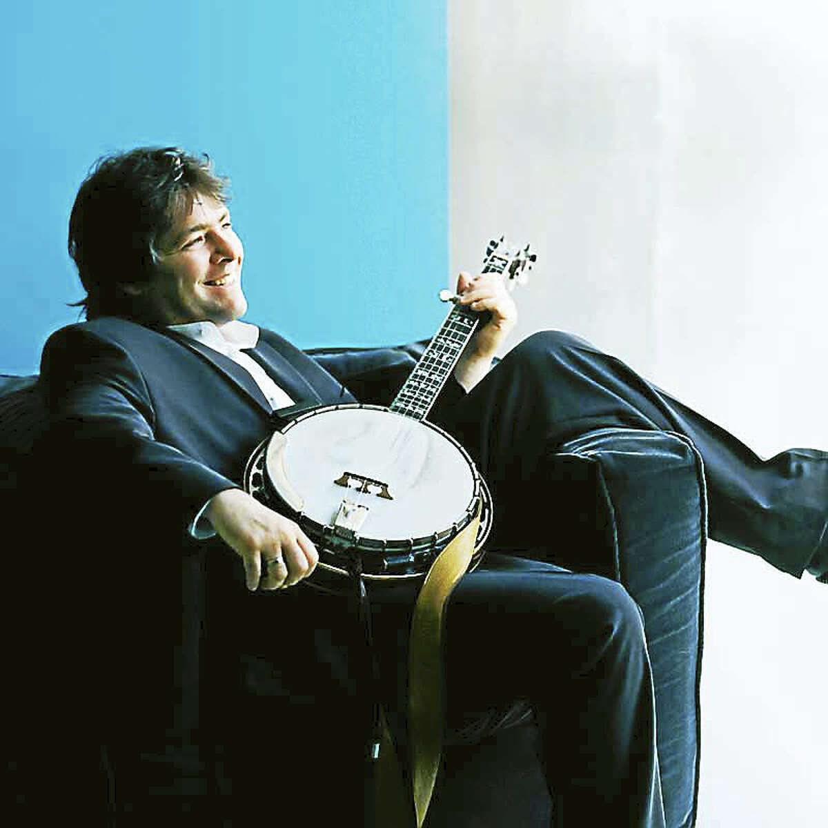Contributed photoBela Fleck joins other performers at Ives Concert Park in Danbury Sept. 10.