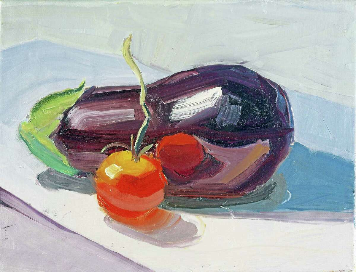 """Contributed photo """"Eggplant and Tomato"""" by Tom Pearsall."""