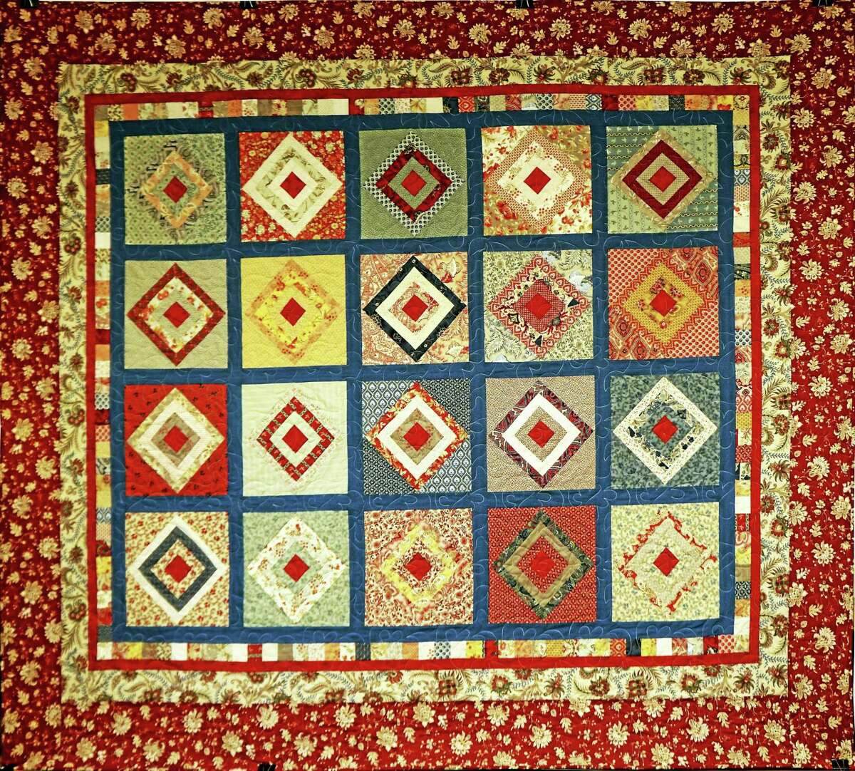 Contributed photo Quilts of all kinds will be on display during a quilt show at the First Congregational Church of Torrington on Saturday, Aug. 27. The event marks the church's 275th anniversary.