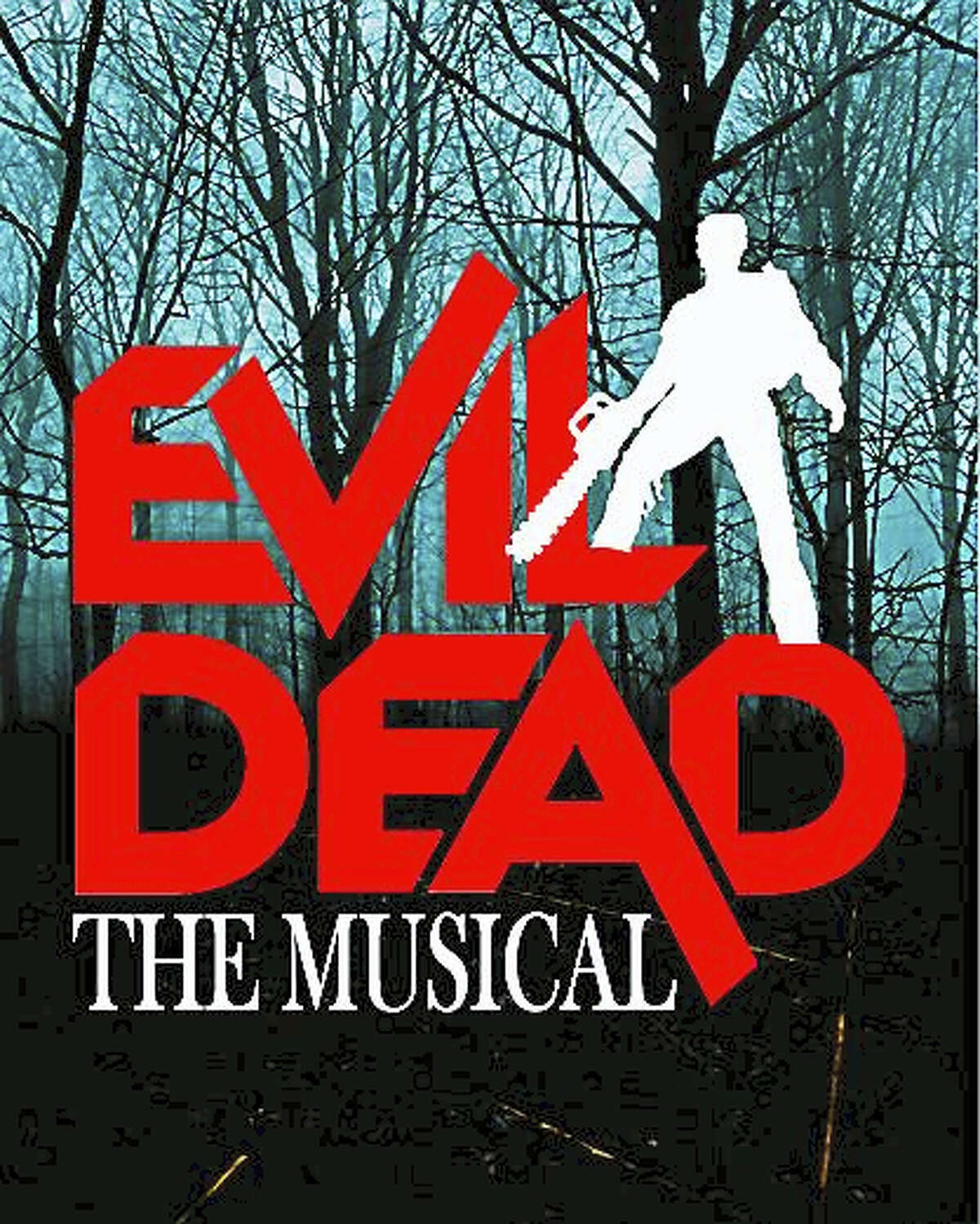 Contributed photo The Warner Stage Company's production of Evil Dead, the Musical, opens Sept. 24.