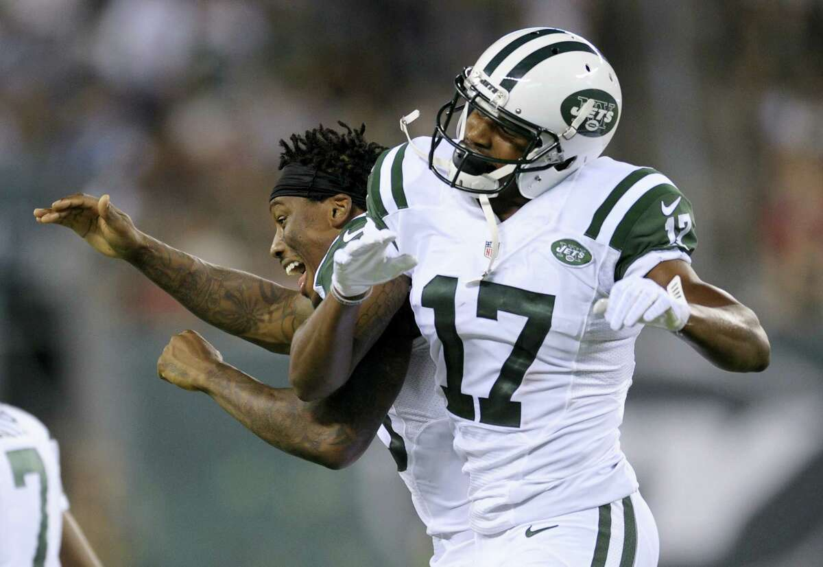 New York Jets wide receiver Charone Peake (17).