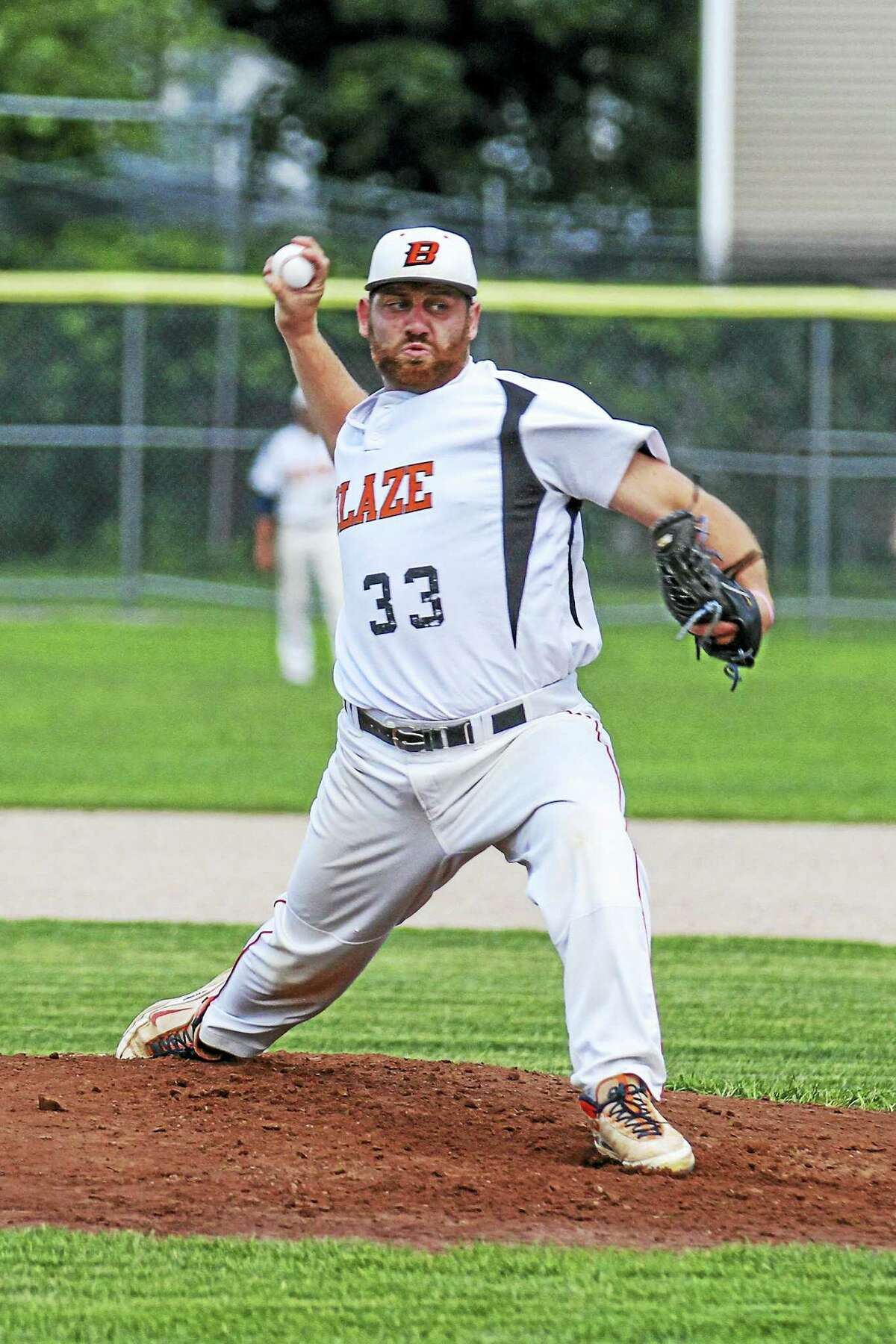Starter Dom Severino and Watertown beat Naugatuck in the opening game of the Tri-State championship series on Monday.