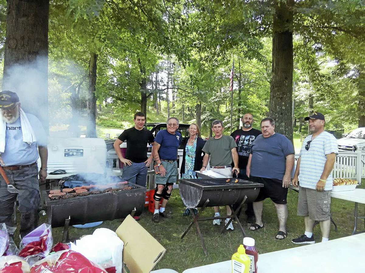 CONTRIBUTED PHOTOAmerican Legion Post 43 Tuttle-Burns held its annual back-to-school picnic Friday.
