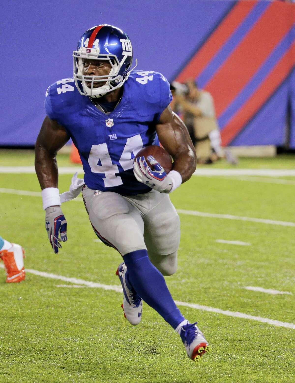 New York Giants running back Andre Williams.