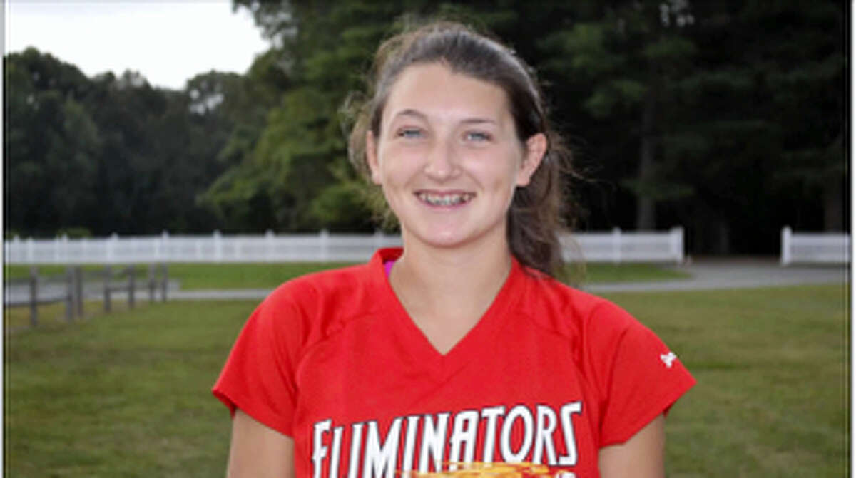 Submitted PhotoBarkhamsted's Sydney Sanden played for the 14U Connecticut Terminators this summer, the first Connecticut team to win a 14U AAU World Series championship.