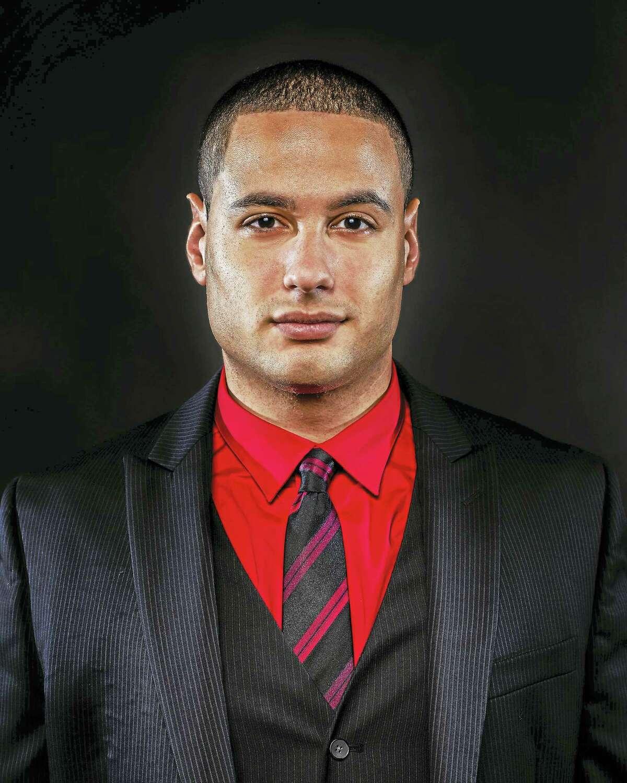 Singer Erick Sanchez of Western Connecticut State University.