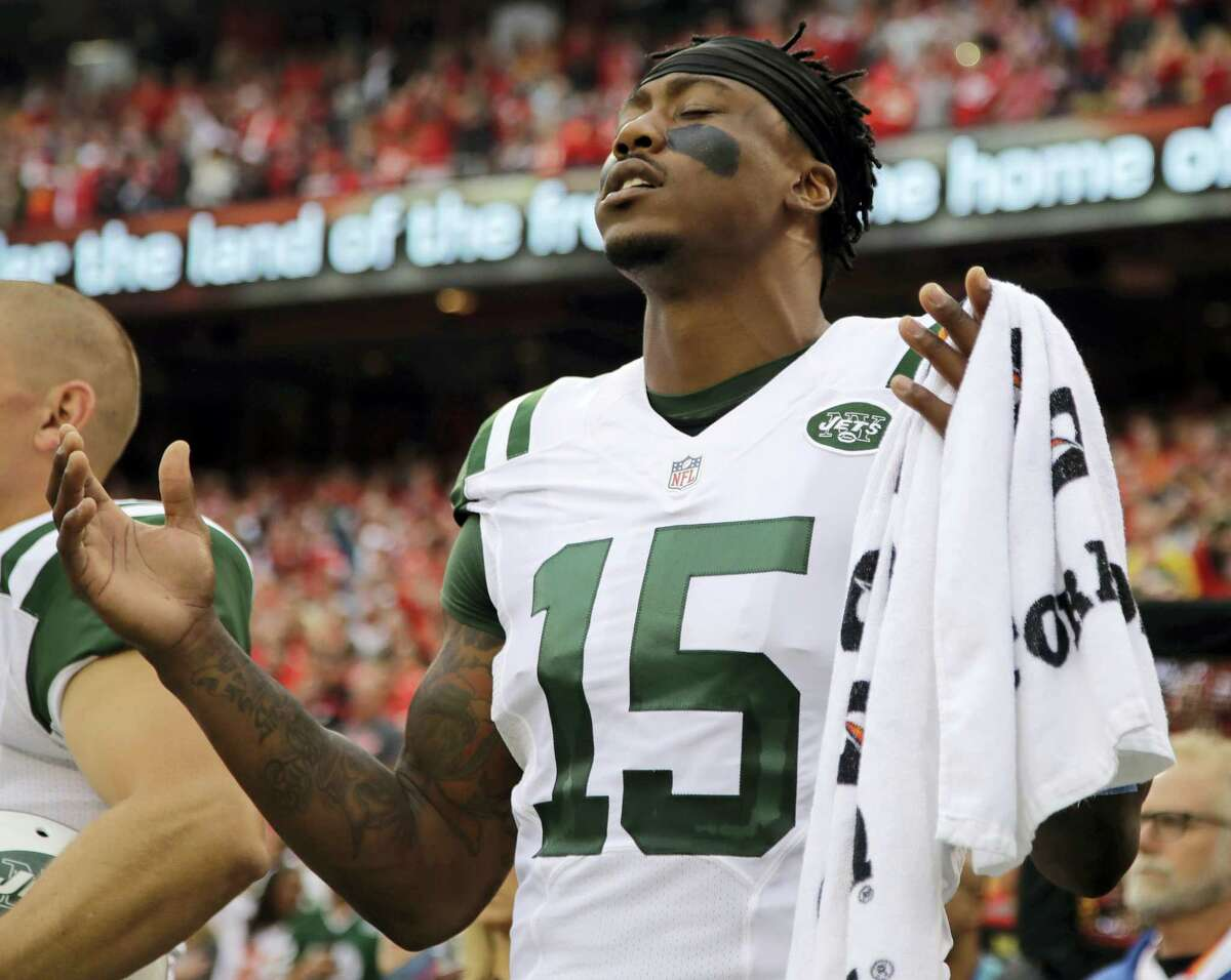 New York Jets wide receiver Brandon Marshall.