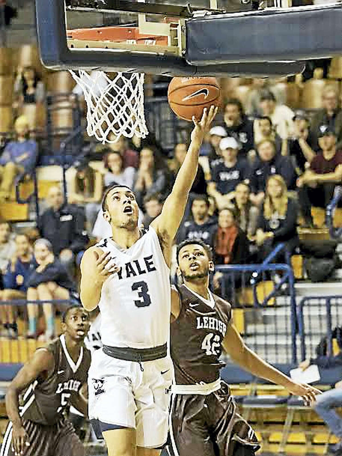 Sophomore Alex Copeland is Yale's leading scorer this season.