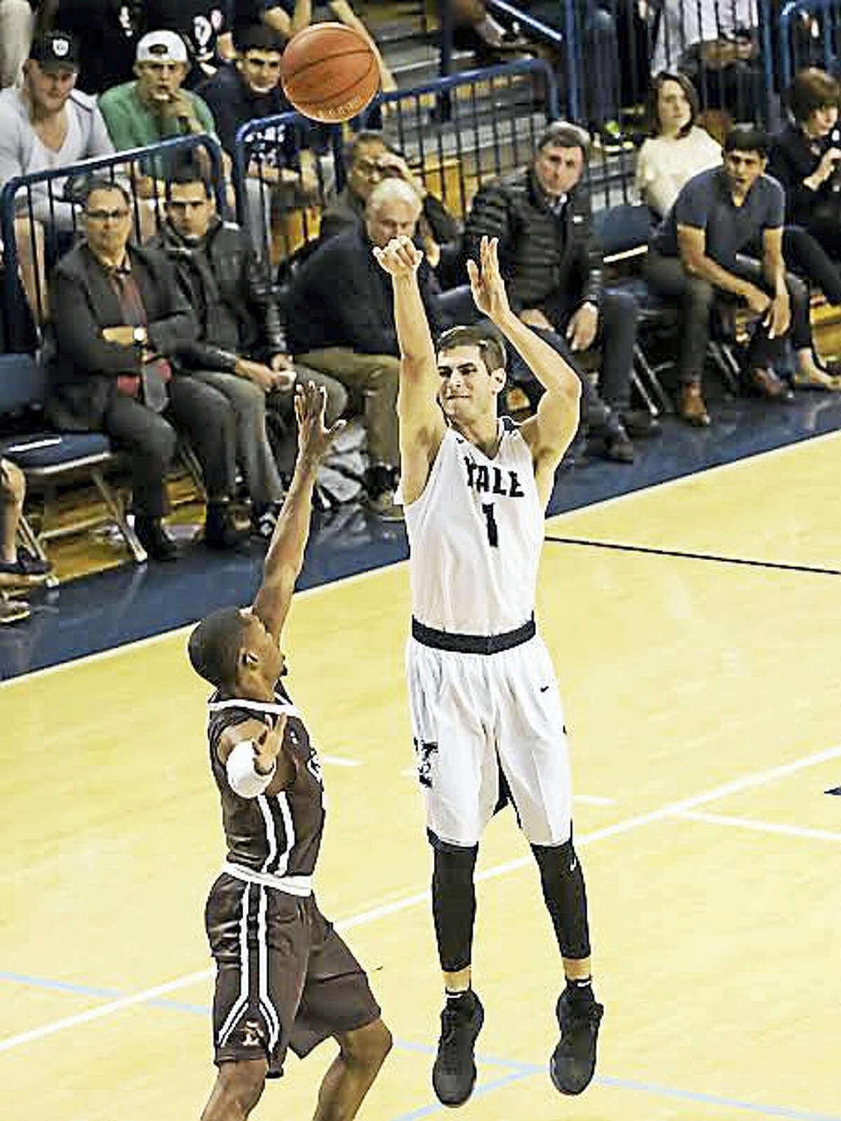 With Makai Mason out for the season, senior captain Anthony Dallier has taken over point guard duties for Yale.
