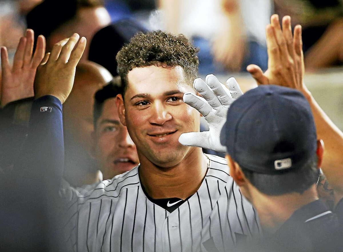 New York Yankees catcher Gary Sanchez.