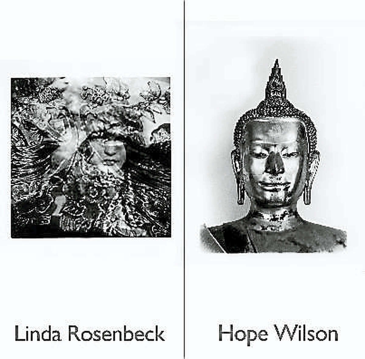 Contributed photos Every year the art department at Northwestern Connecticut Community College hangs contemporary photo exhibitions at the Winsted Department of Motor Vehicles (DMV). This year the work of Linda Rosenbeck and Hope Wilson is being featured.
