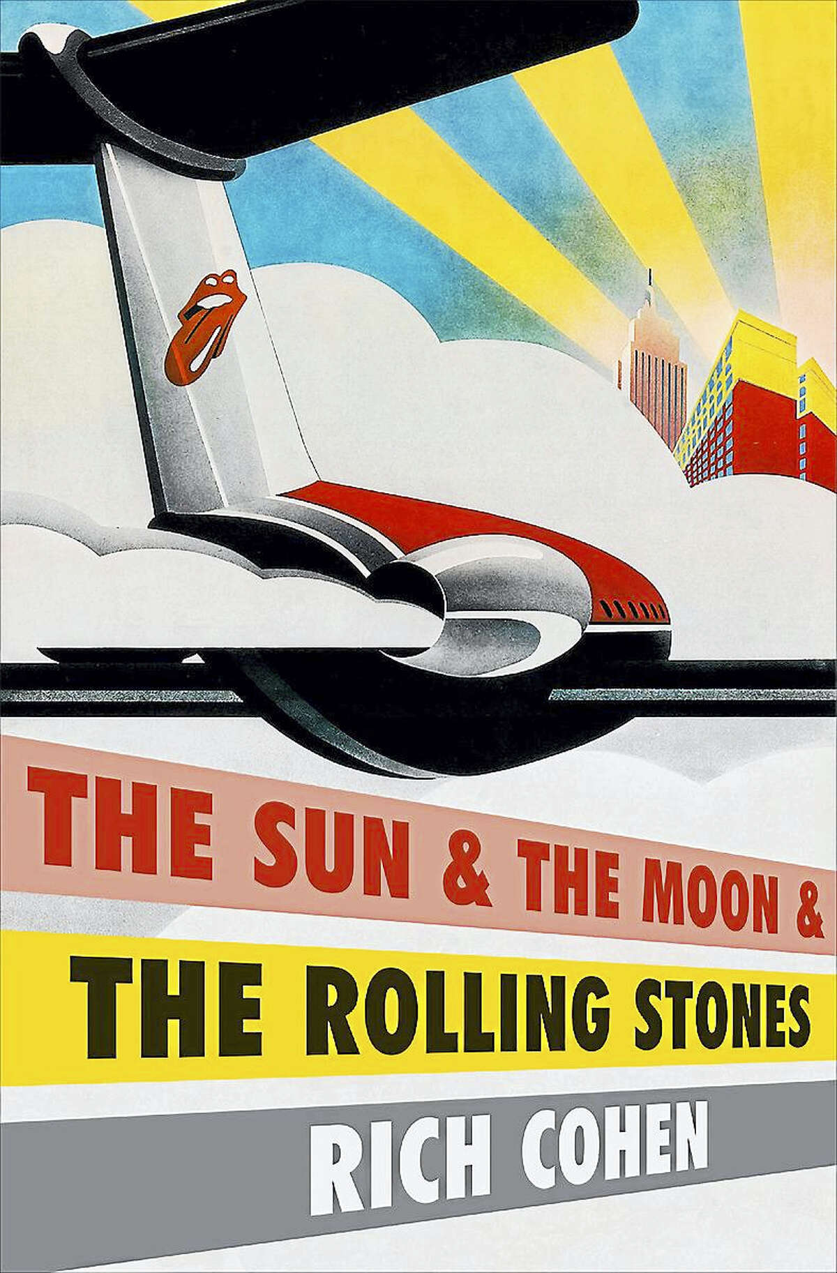 Contributed photo Cohen's book, The Sun & the Moon & the Rolling Stones, will be the subject of a talk by the author at the Gunn Memorial Library in Washington.