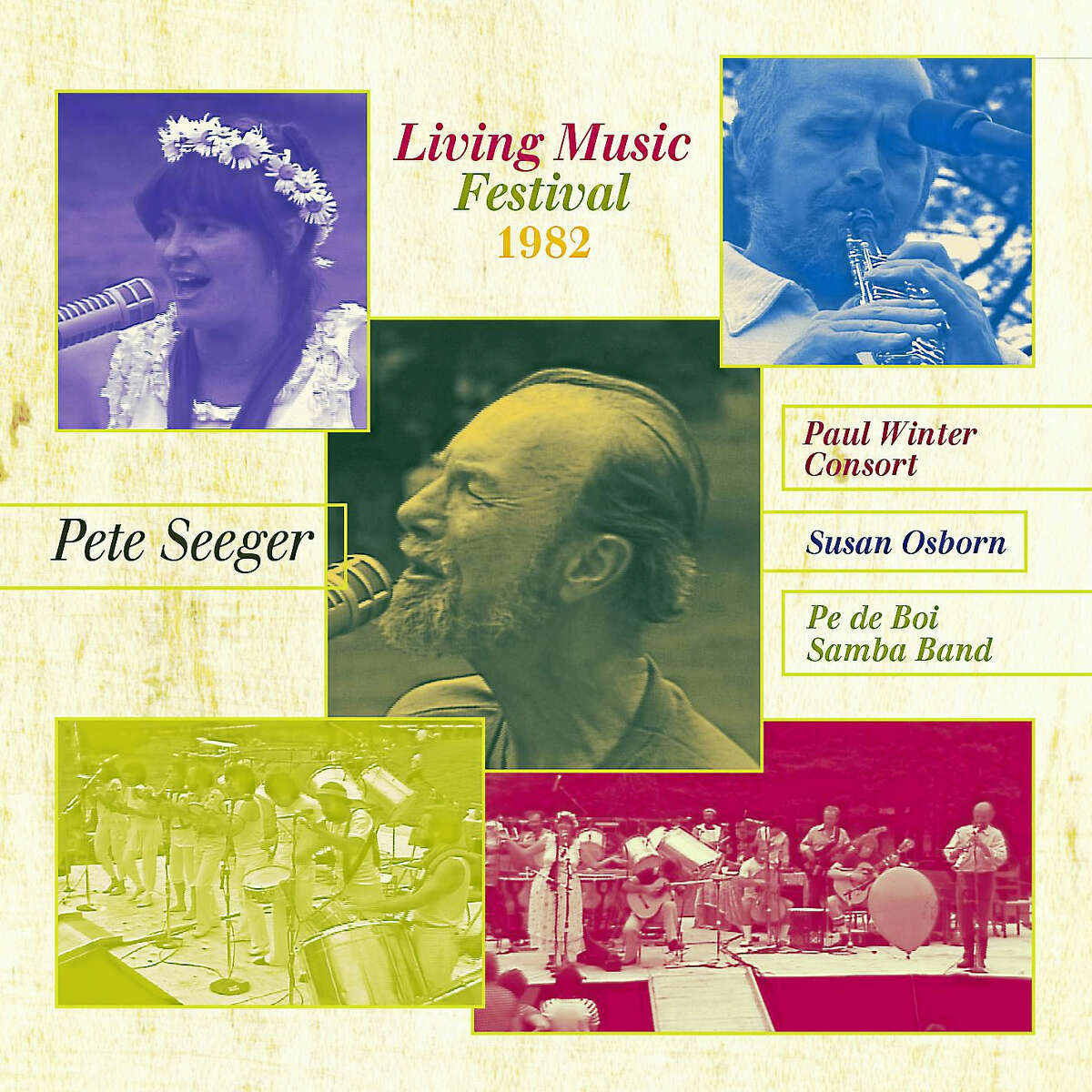 Contributed photoThe Pete Seeger DVD booklet cover, which is part of the Pete-Pak.