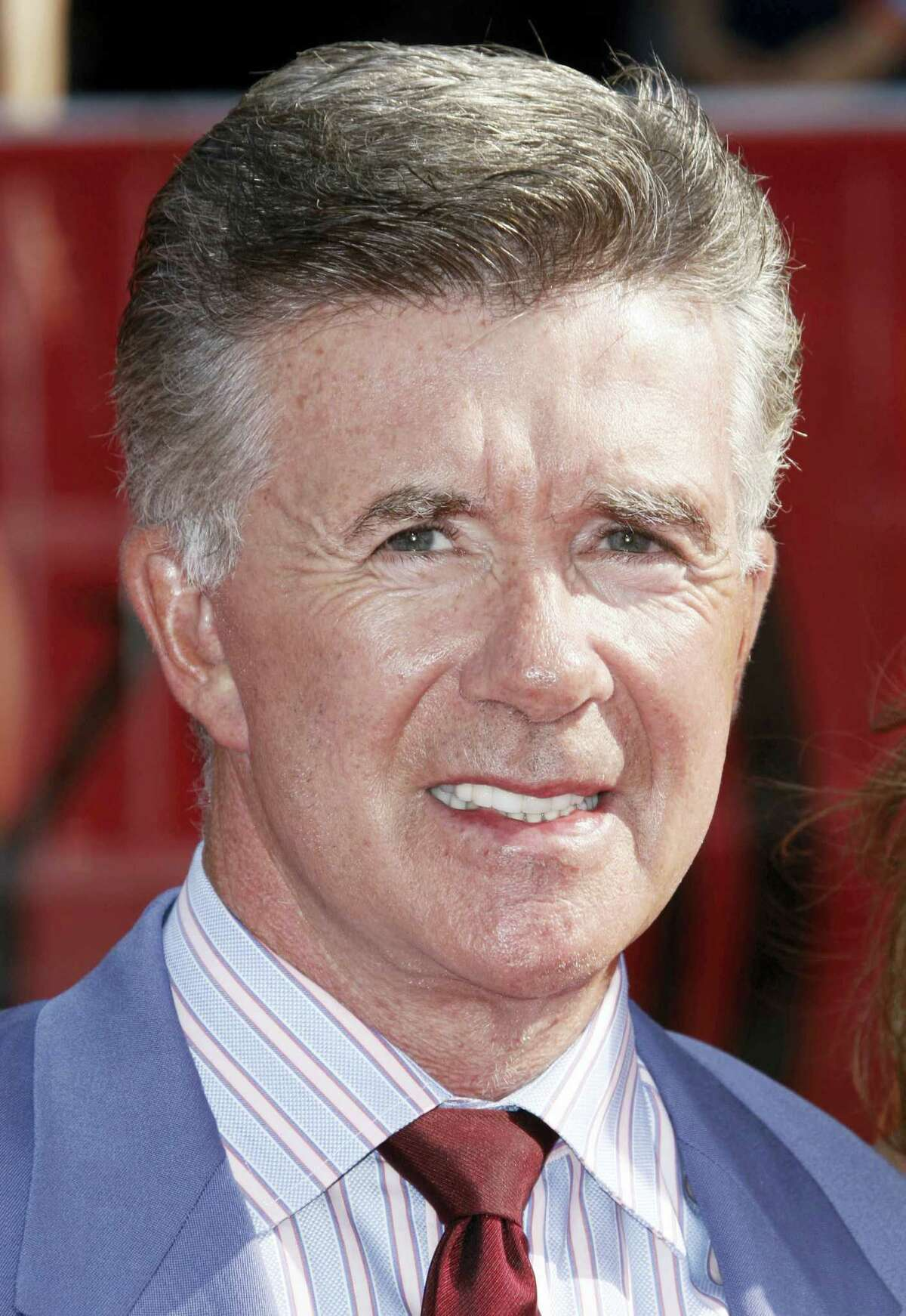 Alan Thicke arrives at the ESPYs Awards in Los Angeles in 2008. On Tuesday, Dec. 13, 2016, A publicist said the actor has died at the age of 69.