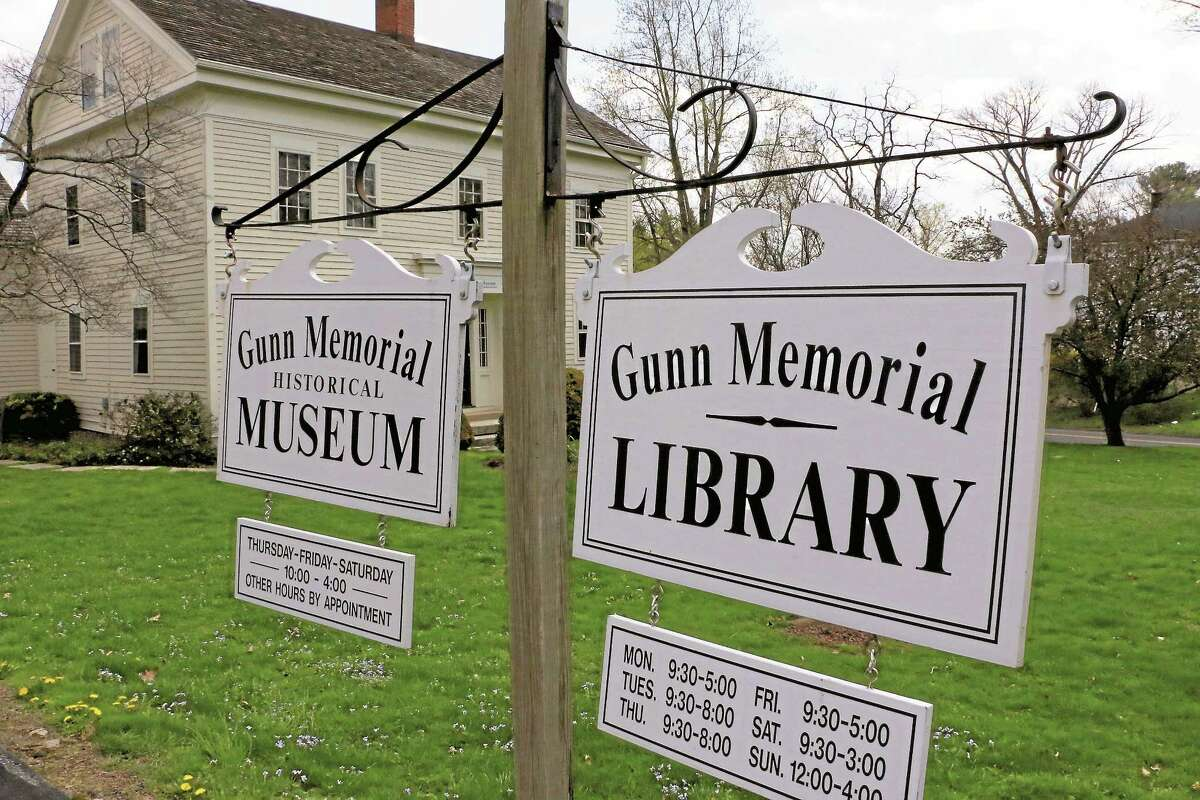 The Gunn Memorial Library and Museum in Washington, Conn.