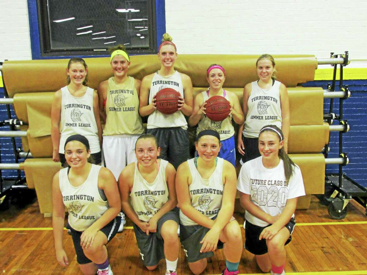 Thomaston's girls basketball team put another feather in its crown Monday evening with a 59-47 win over Wolcott for the girls varsity championship in the Torrington Summer Basketball League. Cameron Capaldo had the hot hand with 19 points, including six of Thomaston's nine threes. In other Summer League championship scores, Canton's 5th and 6th grade team beat Torrington PAL 27-23; Har-Bur's 7th and 8th grade boys A team beat Wamogo Rec 36-30; and Terryville beat the the BB Ballers of Woodbury 29-19 in the boys B Division. 57 teams competed over the summer in all the divisions.