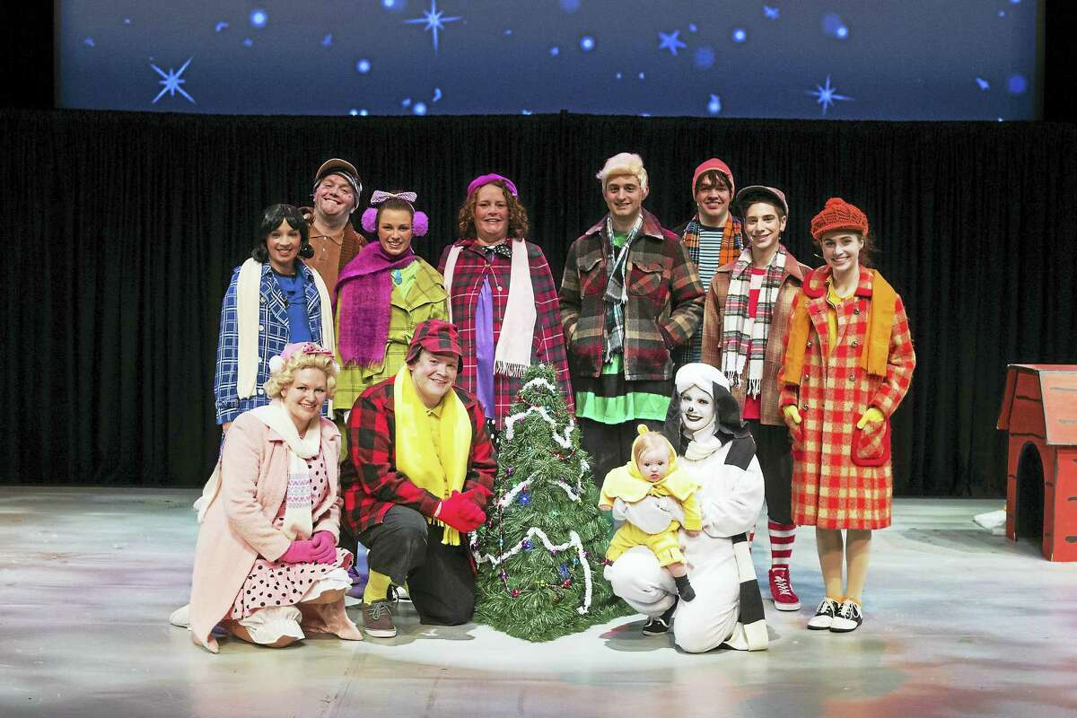 """Contributed photo The Warner Stage Company will present the holiday family favorite, """"A Charlie Brown Christmas,"""" in the Nancy Marine Studio Theatre for its final performances on Saturday and Sunday, Dec. 17-18."""