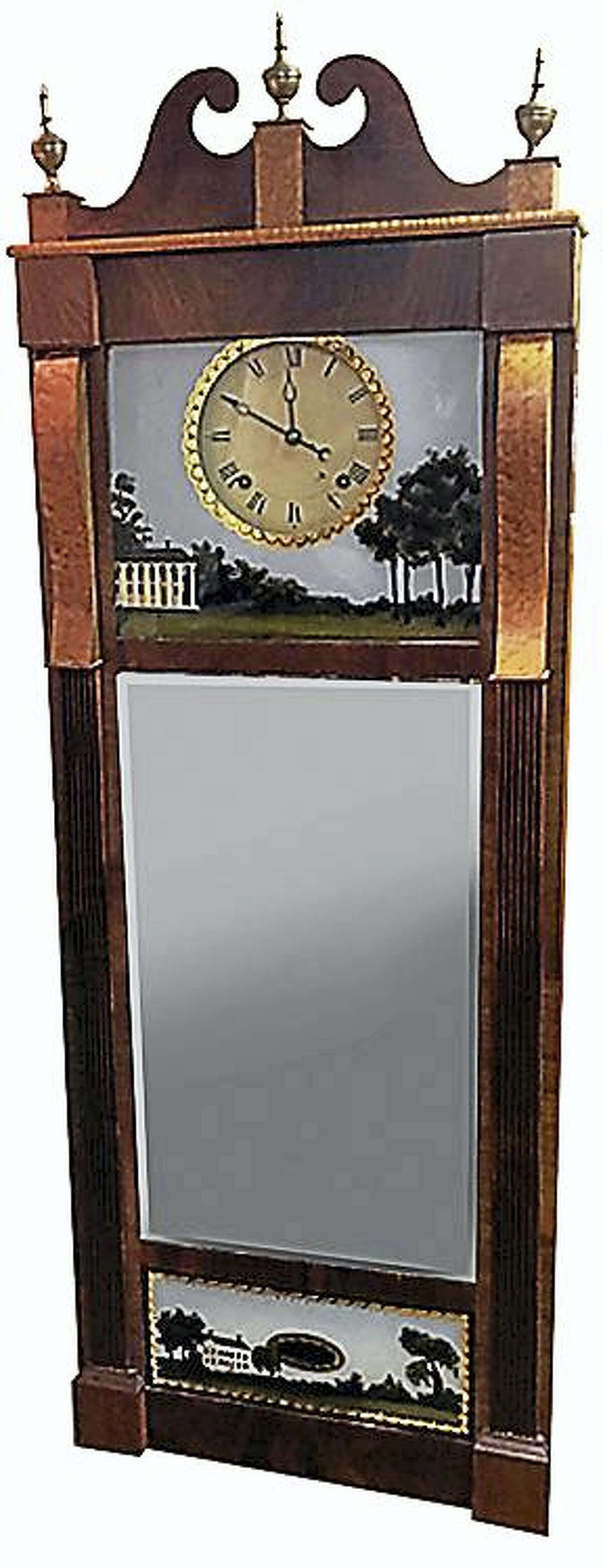 Contributed photoAn Ives clock.