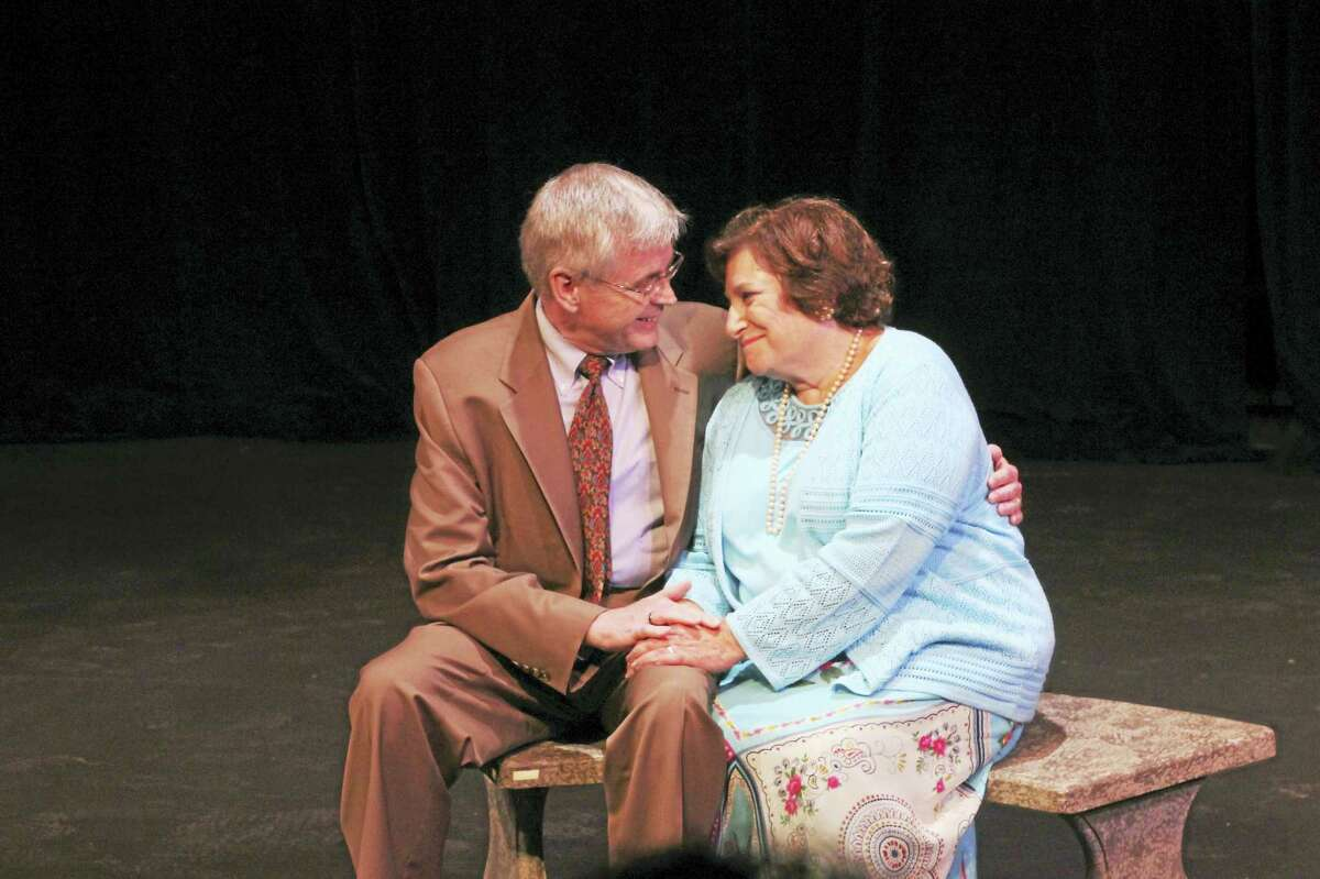 "Peter Haynes and TJ Chila in ""I Was Fine Until You Came in the Room."""